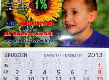 Kalendarz z wizerunkiem Mateuszka