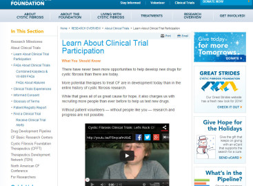 Learn About Clinical Trial Participation