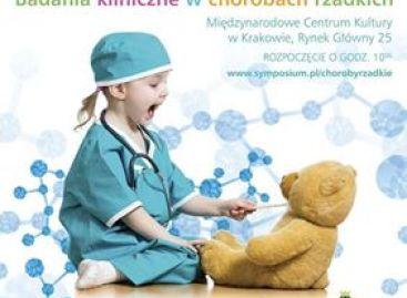 """Konferencja naukowa """"Międzynarodowy Dzień Badań Klinicznych, Badania kliniczne w chorobach rzadkich"""