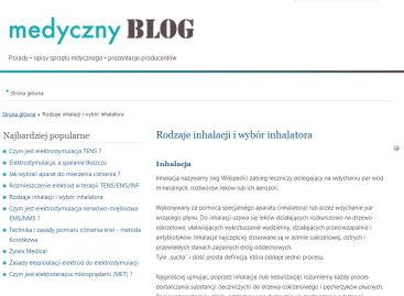 Rodzaje inhalacji i wybór inhalatora
