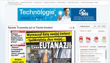 Gazeta o chorych na mukowiscydozę w rejonie