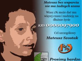 1% dla Mateuszka