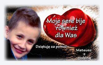 Mukowiscydoza – Mateusz Szostak