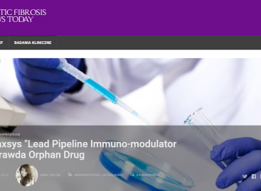 Celtaxsys' –  Lead Pipeline Immuno-Modulator for CF Granted Orphan Drug Designation