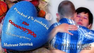 apel 1 % z niebieskim sercem