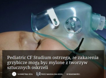 Pediatric CF Studium ostrzega