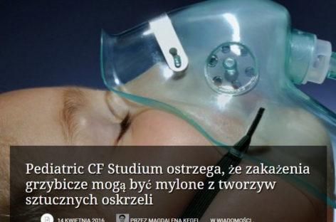 Pediatric CF Studium ostrzega