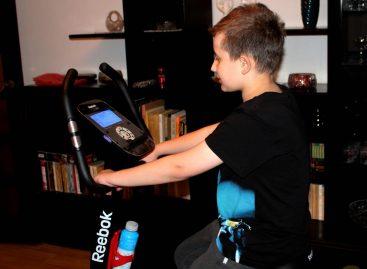 Rower rehabilitacyjny dla Mateusza