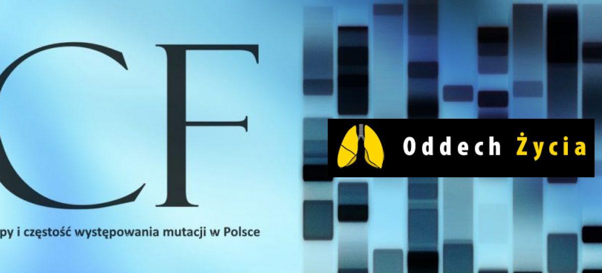 Mukowiscydoza – typy i częstość występowania mutacji CFTR w Polsce