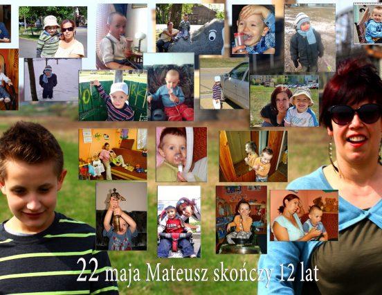 Wkrótce urodziny Mateuszka